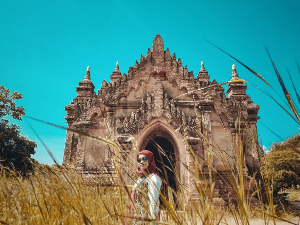Secret Temple in Bagan