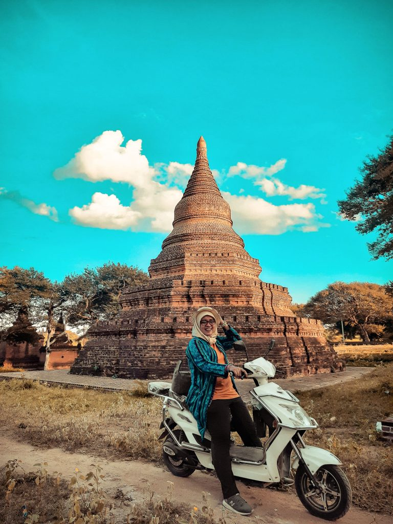 Ebike and Secret Place in Bagan