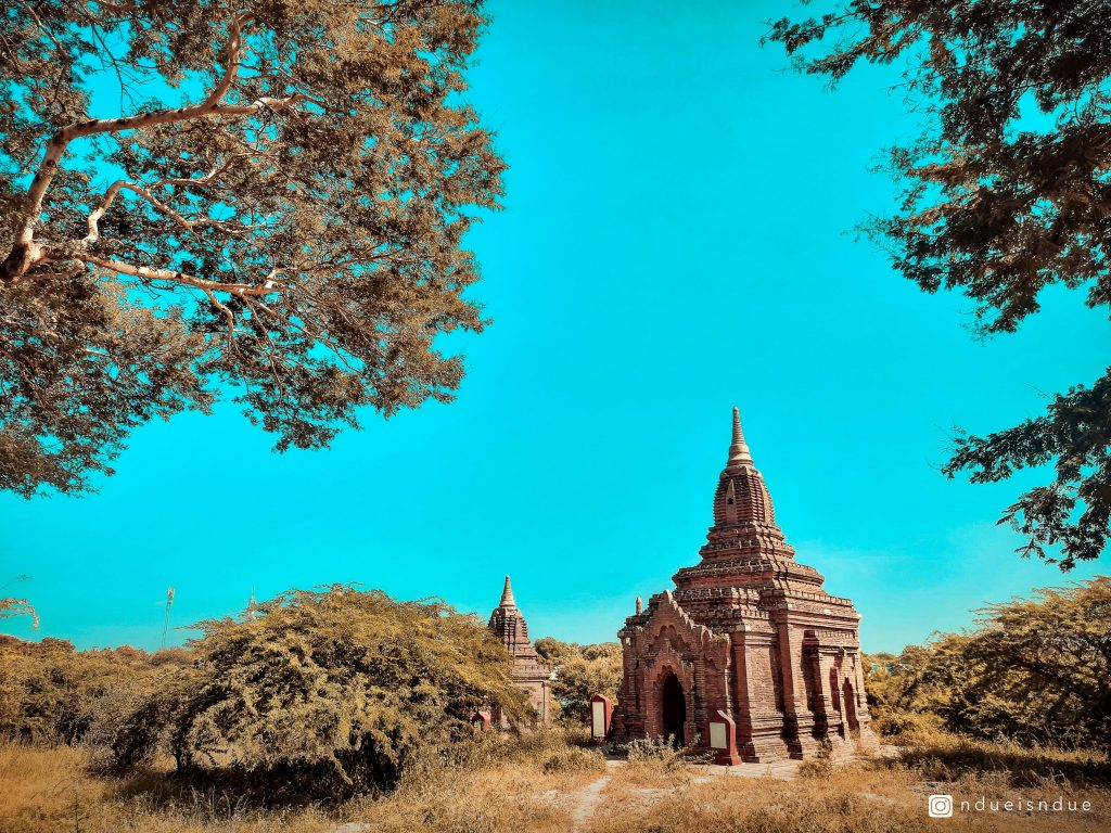 Hidden Temple in Bagan