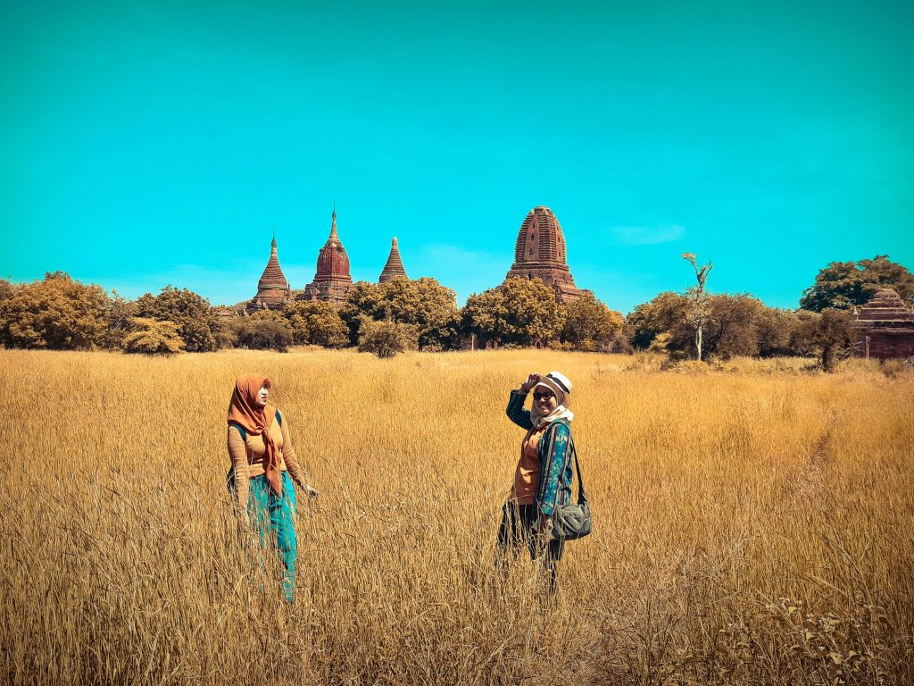 With Archa for explore Bagan